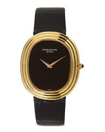 Patek Philippe 18k Yellow Gold Ellipse Watch, c. 1970s