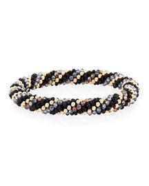 Regina 14K Gold & Mystic Topaz Bracelet