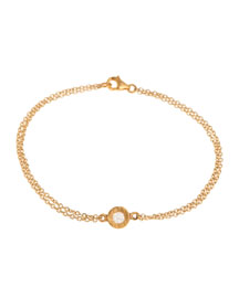 Mica Mini Rose-Cut Diamond Chain Bracelet