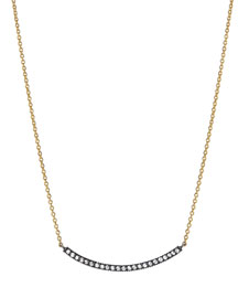 Lilah Smile Bar Pendant Necklace