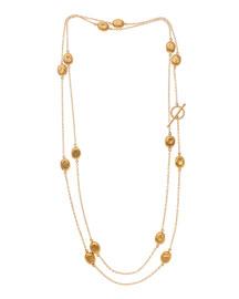 Roxanne 24K Gold Mini Wrap Necklace