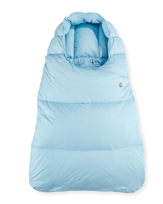 Infant Hooded Sleeping Bag, Light Blue