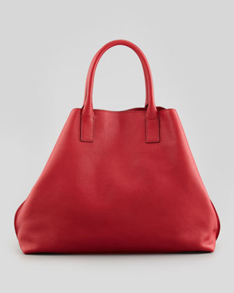 Ai Cervo Medium Shopper Tote Bag, Lipstick