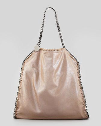 Classic Falabella Tote Bag, Beige