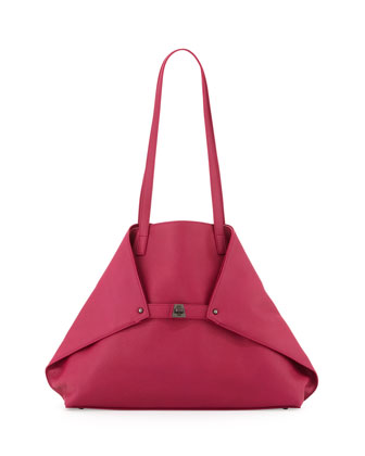 Ai Cervo Medium Shoulder Tote Bag, Pink