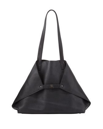 Ai Cervo Medium Shopper Tote Bag, Black