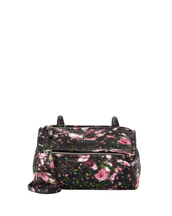 Pandora Medium Flower Camo Satchel Bag, Multi