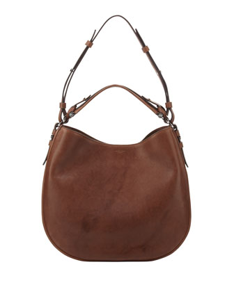 Obsedia Medium Zanzi Hobo Bag, Medium Brown