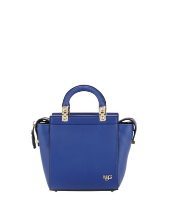 HDG Mini Top-Handle Tote Bag, Royal