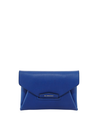 Antigona Sugar Envelope Clutch Bag, Royal