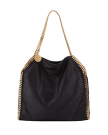 Falabella Baby Shoulder Bag, Black