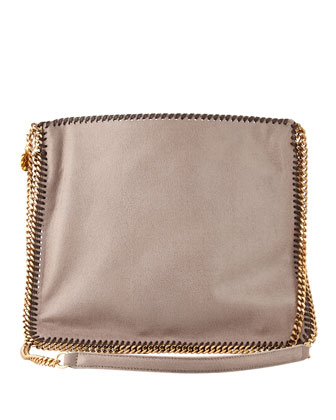 Falabella Medium Crossbody Bag, Taupe