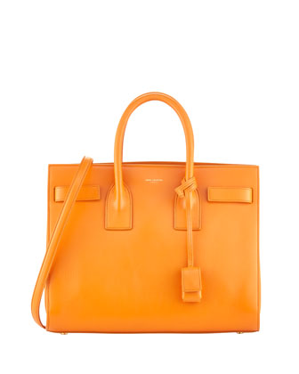 Sac de Jour Small Carryall Bag, Orange