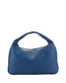 Veneta Large Hobo Bag, Blue