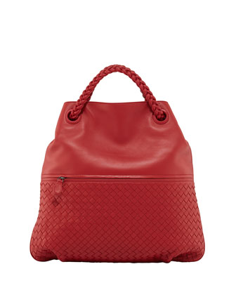Julie Veneta Shoulder Bag, Red