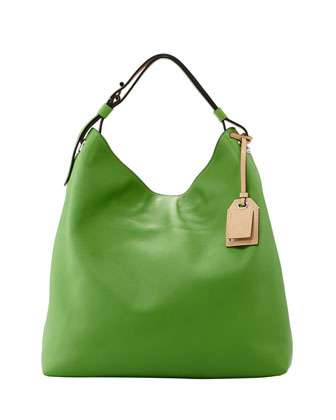 RDK Leather Hobo Bag, Green