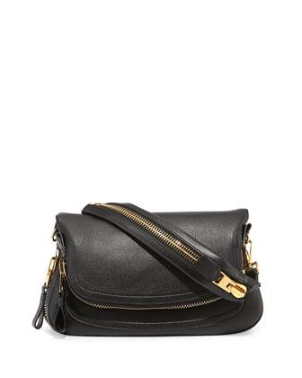 Jennifer Medium Calfskin Shoulder Bag