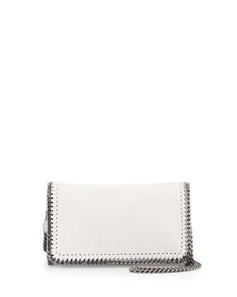 Falabella Mini Crossbody Bag, White