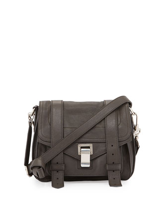 PS1 Pouch Crossbody Bag, Gray