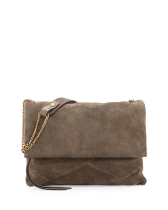 Sugar Medium Shoulder Bag, Gray