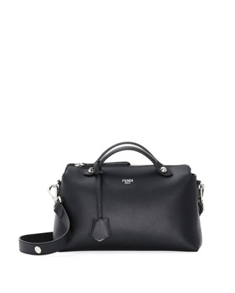 By The Way Bauletto Grande Satchel Bag, Black
