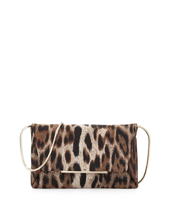 Mai-Thai Jacquard Envelope Clutch Bag, Multi