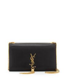 Monogram Medium Chain-Strap Tassel Bag