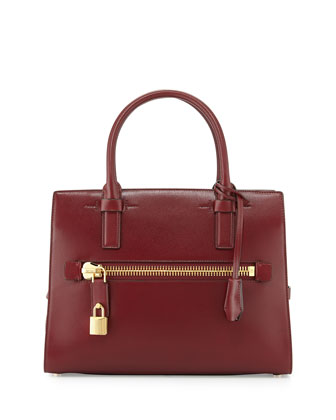 Charlotte Medium Executive Tote Bag, Burgundy
