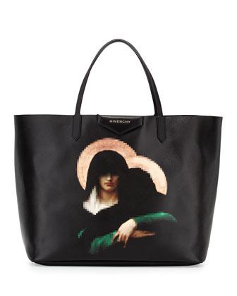 Antigona Large Madonna Tote Bag