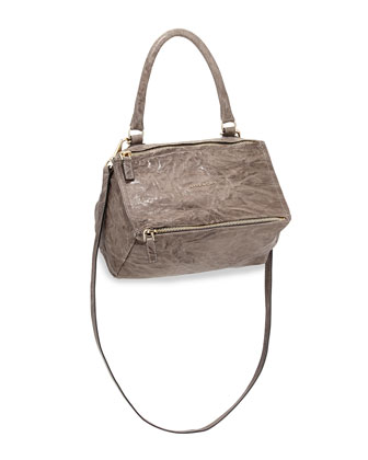 Pandora Pepe Small Shoulder Bag, Charcoal