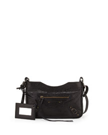Classic Hip Crossbody Bag, Black