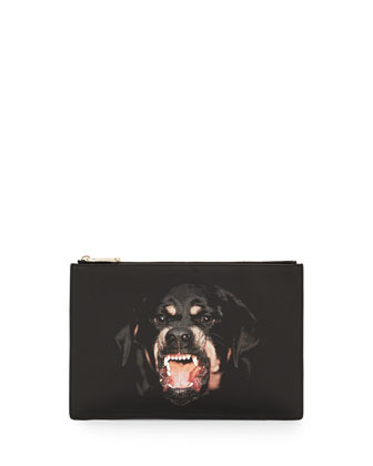 Antigona Medium Zip Clutch Bag, Multi