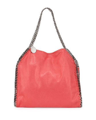 Small Falabella Tote Bag, Coral