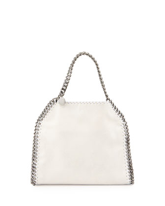 Mini Falabella Crossbody Bag, White