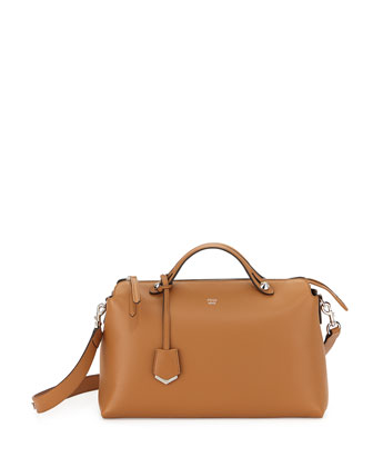By The Way Large Satchel Bag, Tan