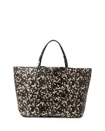 Antigona Large Floral-Print Shopper Tote Bag