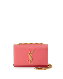 Monogram Small Crossbody Bag, Pink