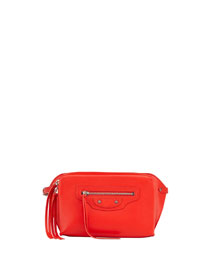 Papier Zip-Around Belt Bag, Red