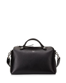 By The Way Small Leather Satchel Bag, Black