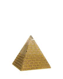Austrian Crystal Pyramid Clutch Bag, Champagne