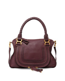 Marcie Double-Carry Satchel Bag