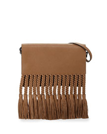 T.B.C. Braided Fringe Shoulder Bag