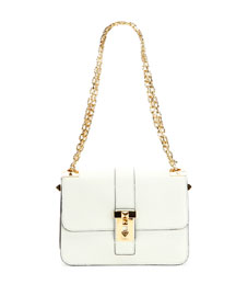B-Rockstud Leather Shoulder Bag