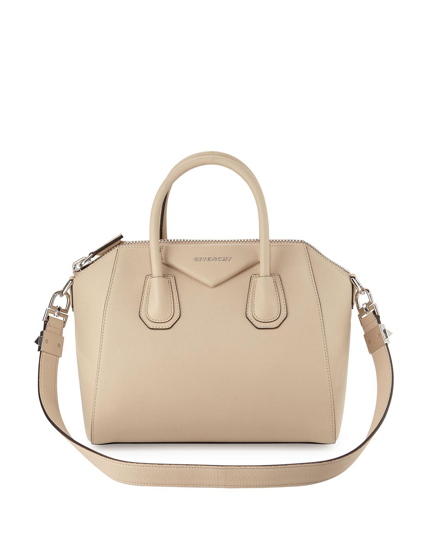 Givenchy Antigona Small Sugar Satchel Bag, Size: S, Gray