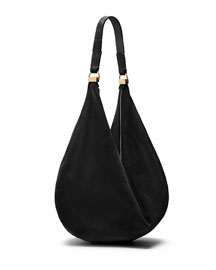 Sling 12 Suede Hobo Bag