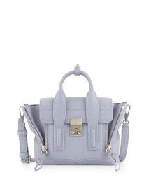 Pashli Mini Satchel Bag, Lapis