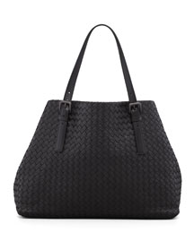 Large Double-Strap A-Shape Tote Bag