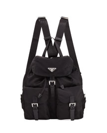 Vela Medium Backpack, Black (Nero)