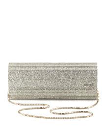 Sweetie Glittery Clutch Bag,