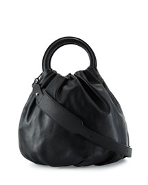 Lamb Leather Bounce Shoulder Bag